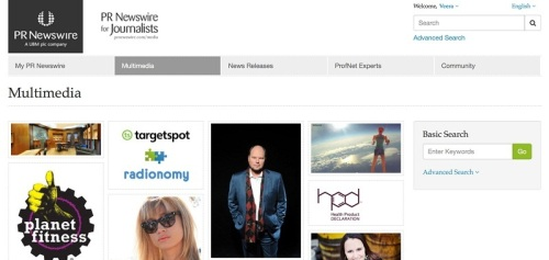 Browse the most recent images and videos on PR Newswire's multimedia archive or search by a particular keyword.