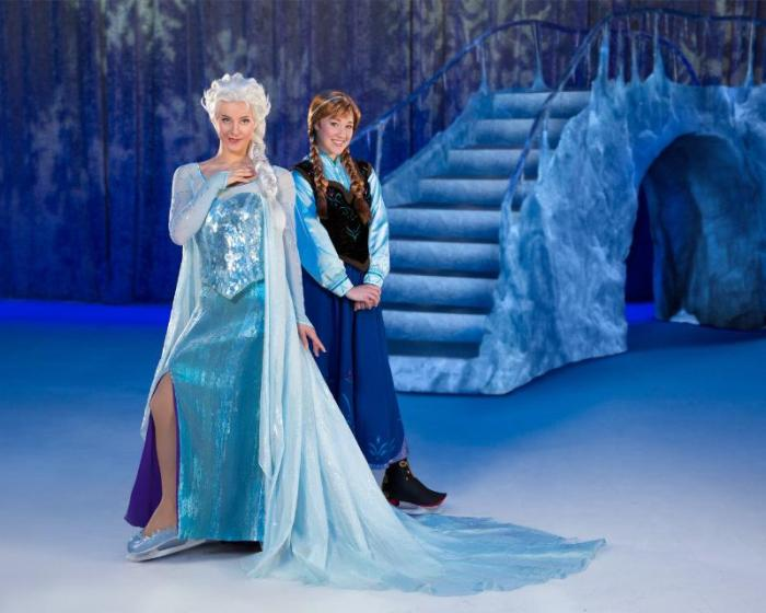 The number one animated feature film of all time is brought to life in a breathtaking live skating theatrical production of Disney On Ice presents Frozen. (PRNewsFoto/Feld Entertainment)