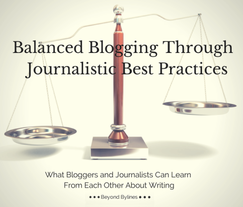 Balanced Blogging 1