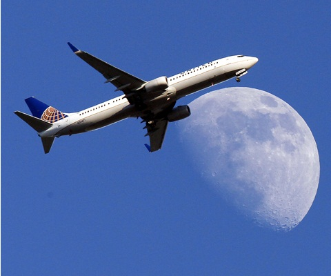 United Airlines jet plane. Source: AP Photo/Nick Ut, File