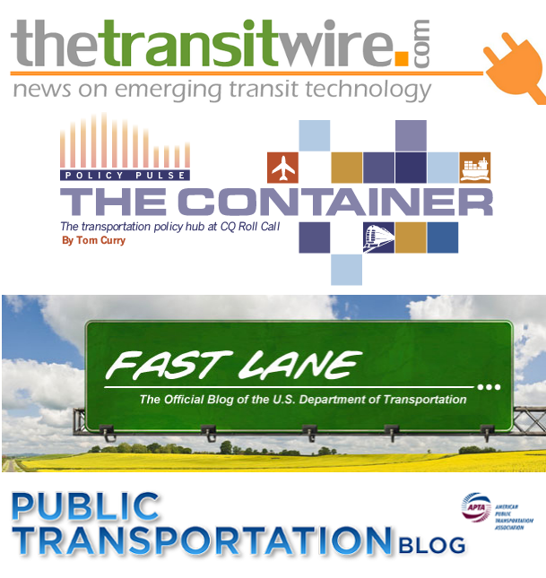 Transit Blogs We Love