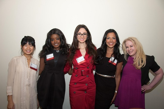 Panelists from New York Women in Communications Foundation's Student Communications Career Conference