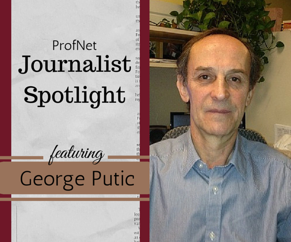 George Putic Journalist Spotlight