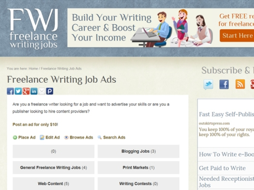 places to paid lance writing jobs beyond bylines  lance writing