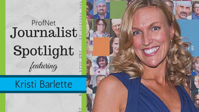 Journalist Spotlight Kristi Barlette
