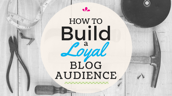 build a blog audience