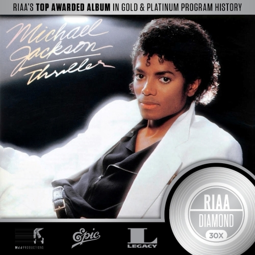 Legacy Recordings Thriller Platinum