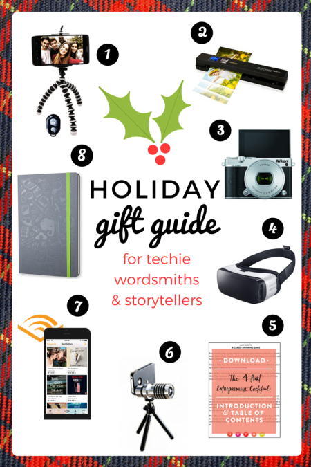 2015 Gift Guide for Journalists and Bloggers