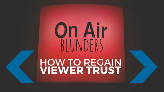TV Broadcast - On-Air Blunders