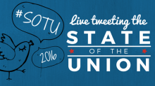Live Tweeting the State of the Union 2016