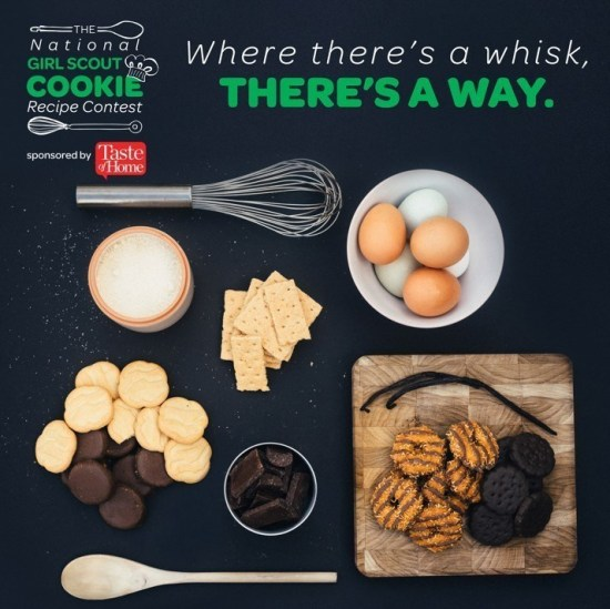 Girls Scouts Recipe Contest