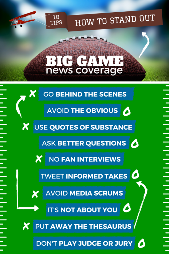 FOOTBALL COVERAGE INFOGRAPHIC