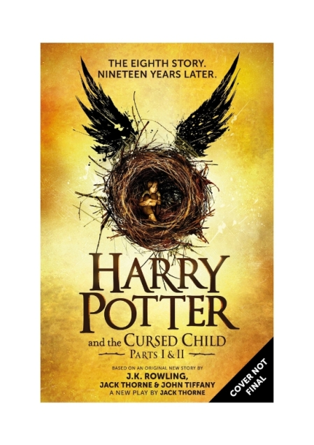 Scholastic Harry Potter and the Cursed Child Script Book