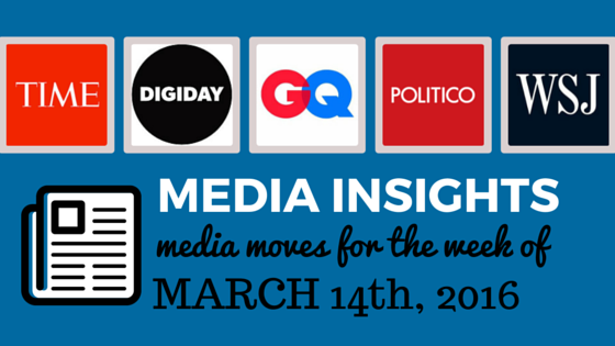 Media Moves: Who's Coming and Going the Week of March 14