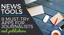 news tools and apps for journalists