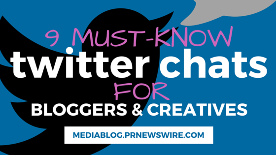 twitter chats for bloggers