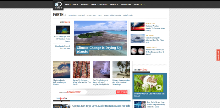 Earth News Discovery News