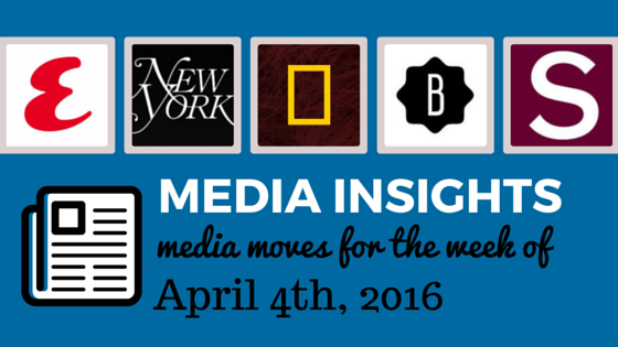 media moves and influencer insights