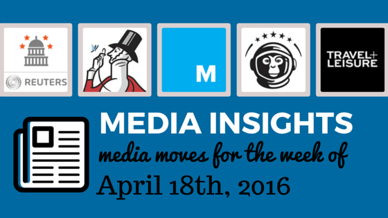 Media Moves: Who's Coming and Going the Week of April 18 | Beyond