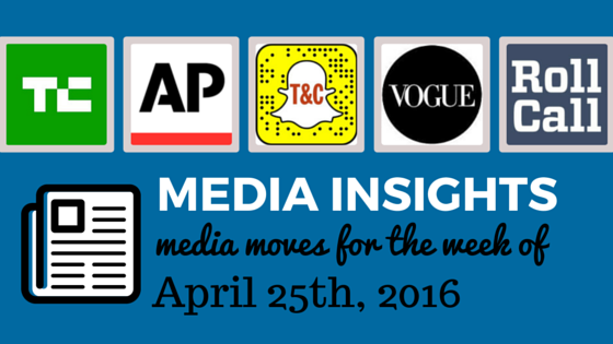 Media Moves: Who's Coming and Going the Week of April 25