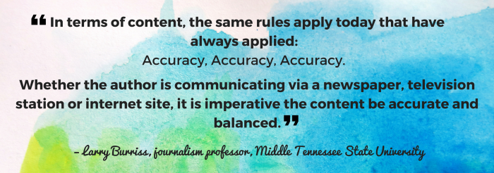 media law and ethics quote 2