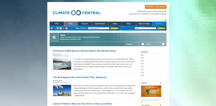 News Climate Central