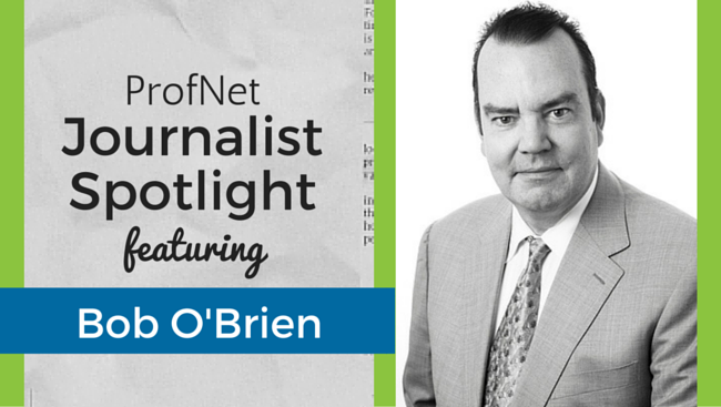 Bob O'Brien - The Deal journalist