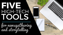 digital reporting tools for journalists