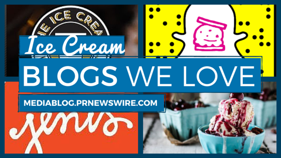 ice cream blogs