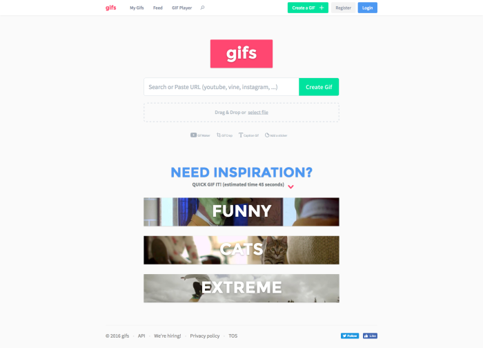 Gifs.com Animated Gif Maker and Gif Editor