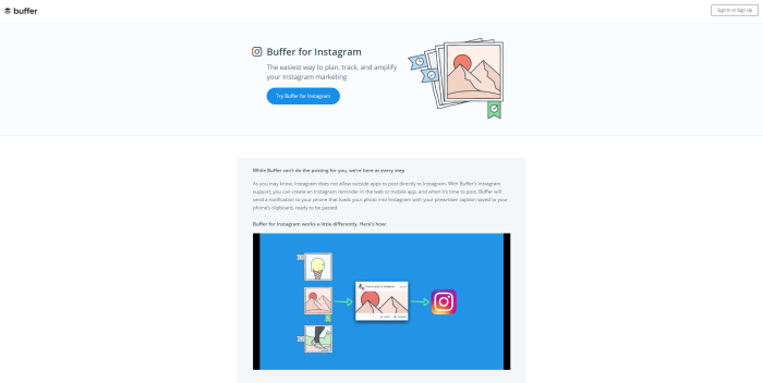 buffer for instagram