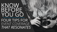 media event coverage tips
