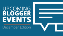December Blogger Events and Conferences