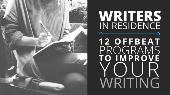 12 writers in residence programs