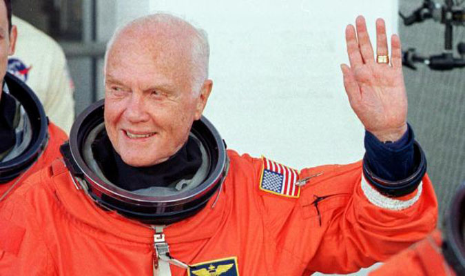 Source: PRNewsFoto/John Glenn/NASA