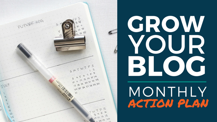 Blog Action Plan