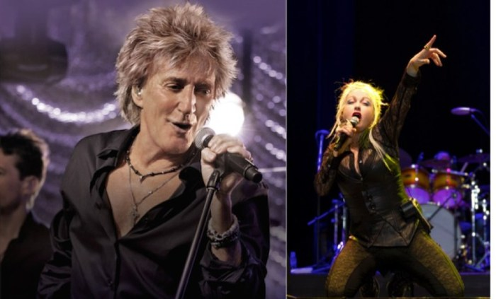 Rod Stewart And Cyndi Lauper