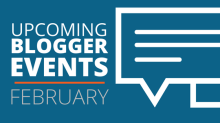February Blogger Events