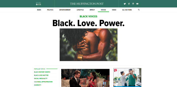 Huffington Post Black Voices