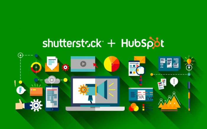 Shutterstock and HubSpot Partner
