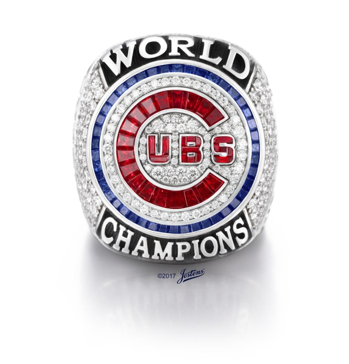 Iconic handcrafted ring presented at Wrigley Field