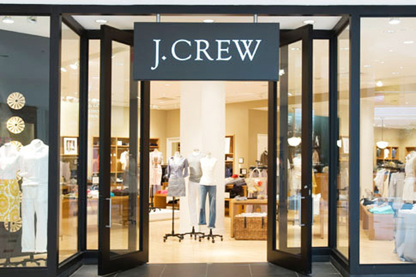 Exterior photo of a J.Crew store