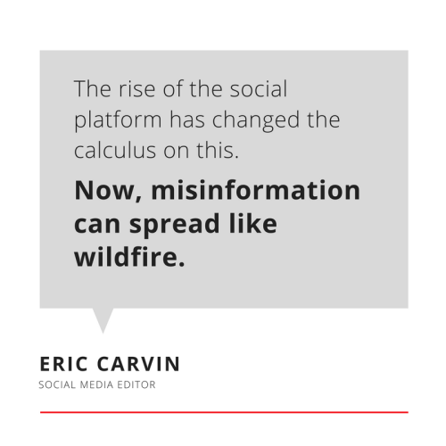 Eric Carvin, Social Media Editor at @AP