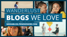 Travel and wanderlust blogs