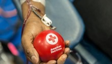 The American Red Cross urges blood donations to prevent shortage