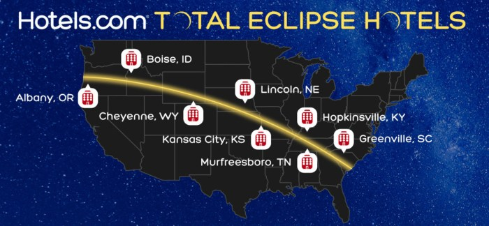 Hotels Com Total Eclipse Hotels
