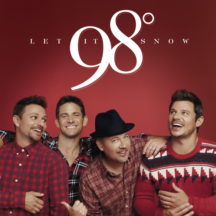 98 Degrees Christmas Album