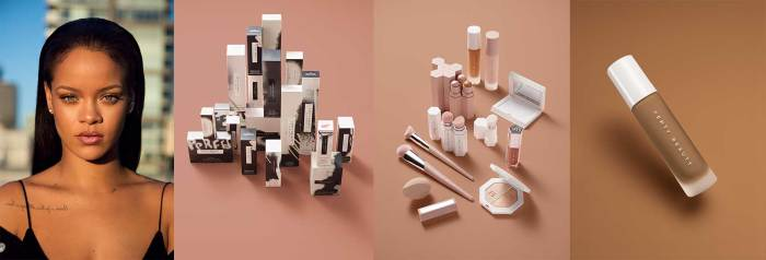 Rihanna Launches Fenty Beauty, a Global Makeup Brand, in 17 Countries