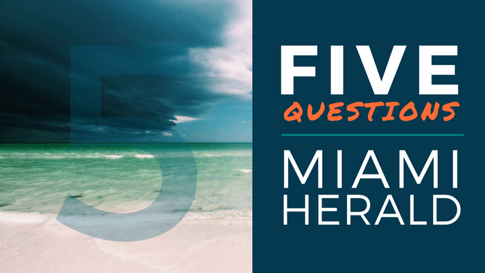 Five Questions with Miami Herald