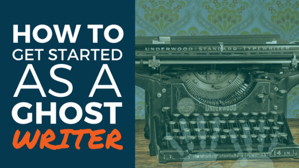 how to start ghostwriting